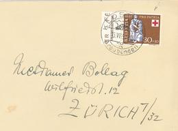 Klosters Graubünden 1957 Krebsbekämpfung - Suisse