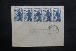 CAMEROUN - Enveloppe De Sangmelima Pour La France En 1961, Affranchissement Plaisant - L 35906 - Kamerun (1960-...)