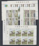 Faroe Islands 1987 Hestur Island 5v  8x ** Mnh (F7928) - Faeroër
