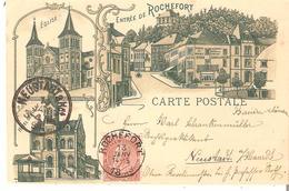 CP. De ROCHEFORT - Du 13 Janvier 1898 Vers Allemagne - Rochefort