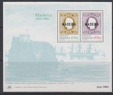 Madeira 1980 Postal Independance M/s ** Mnh (43580) - Madeira