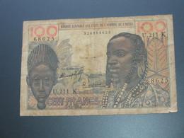 100 Francs - SENEGAL = K - Banque Centrale Des Etats De L'Afrique De L'Ouest **** EN ACHAT IMMEDIAT **** - Sénégal