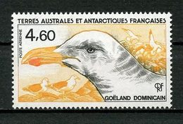 TAAF PA N° 92 Neuf ** MNH Superbe C 2,20 € Faune Oiseaux Birds Goéland Dominicain Animaux - Luftpost