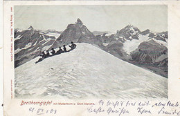 Breithorhgipfel - Animiert - 1903       (90720) - VS Valais