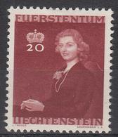 LIECHTENSTEIN - Michel - 1943 - Nr 212 - MH* - Liechtenstein