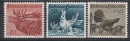 LIECHTENSTEIN - Michel - 1946 - Nr 249/51 (MOOI) - MH* - Unused Stamps