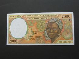 2000 Francs - TCHAD = P - Banque Centrale Des Etats De L'Afrique Centrale **** EN ACHAT IMMEDIAT **** - Ciad