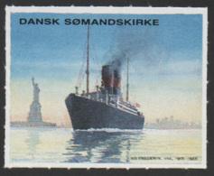 Denmark, Dansk Somandskirke, Cinderella, MNH. - Denmark