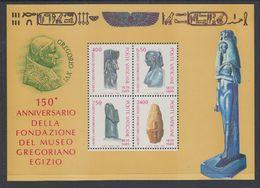 Vatican City 1989 Gregorian Egyptian Museum M/s ** Mnh  (43582) - Blokken & Velletjes