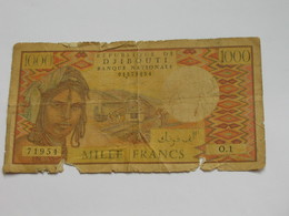 1000 Francs 1979-1988  - République De DJIBOUTI **** EN ACHAT IMMEDIAT **** - Dschibuti