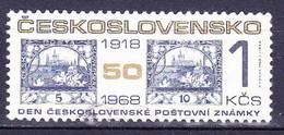 Tchécoslovaquie 1968 Mi 1850 (Yv 1691), Obliteré, - Gebraucht