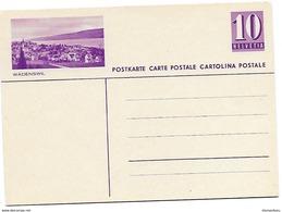 """21 - 34 - Entier Postal Nuf Avec Illustration """"Wädenswil"""" - Ganzsachen"""
