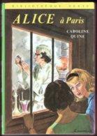 [06/1974] Alice à Paris (C. Quine) - Bibliothèque Verte