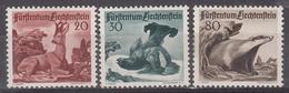 LIECHTENSTEIN - Michel - 1950 - Nr 285/87 - MH* - Liechtenstein
