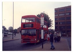 35mm ORIGINAL PHOTO BUS STAINES WRAYSBURY  - F046 - Other