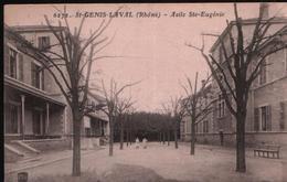 Cpa ST GENIS LAVAL 69 - Asile Ste Eugénie (correspondance Militaire Souvenir Du Fort De La Côte Lorette) - Autres Communes