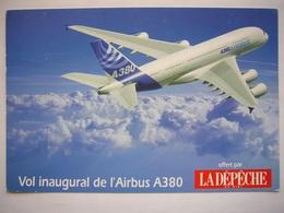 Avion / Airplane / Airbus A380 / Offert Par LA DEPECHE Du Midi - 1946-....: Era Moderna