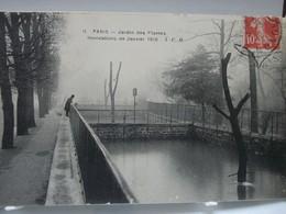 PARIS  -  Jardin Des Plantes  -  Inondations De Janvier 1910 - Parques, Jardines