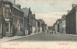R198277 Old High St. Kirkcudbright. Davidson - Postkaarten