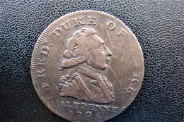 1795 Half Penny Token Walks Of Old England - Autres