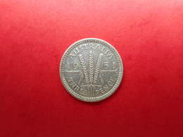 Australia 3 Pence 1951 George VI - Moneda Pre-decimale (1910-1965)