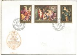LIECHTENSTEIN FDC ARTE PINTURA RUBENS - Rubens