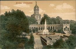Postcard Breslau Wrocław Liebichshöhe - Coloriert 1914  - Schlesien