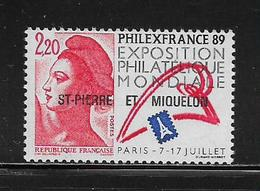 SAINT PIERRE ET MIQUELON  (SPM8 - 90 )  1988  N° YVERT ET TELLIER  N° 489b  N** - St.Pierre & Miquelon
