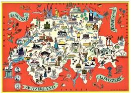 Schweiz Map Card - Ohne Zuordnung