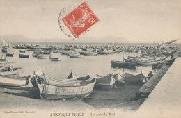 13 // MARSEILLE    L ESTAQUE PLAGE   Un Coin Du Port, édit Roure - L'Estaque