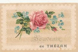 11 // Souvenir De THEZAN,  Rose Gauffrée - Francia