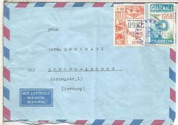 GUATEMALA CC SELLOS TURISMO JUEGOS OLIMPICOS DE 1968 OLYMPIC GAMES - Verano 1968: México