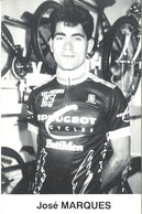 CYCLISME: CYCLISTE : JOSE MARQUES - Cyclisme