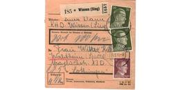 Colis Postal  -  De Wissen ( Sieg )  - Pour Waldheim - Spittel  -  5-3-43 - Covers & Documents