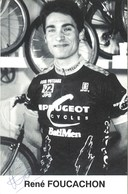 CYCLISME: CYCLISTE : RENE FOUCACHON - Wielrennen