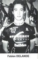 CYCLISME: CYCLISTE : FABIEN DELANDE - Wielrennen