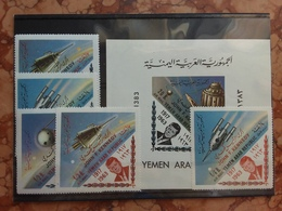 YEMEN 1963 - Commemorazione John Kennedy - Serie + BF Nuovi ** + Spese Postali - Jemen