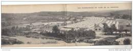 23 - CAMP DE LA COURTINE / CARTE TRIPLE PANORAMA - Autres Communes