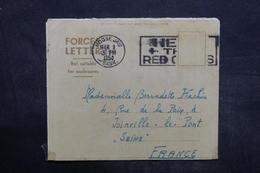 CANADA - Formulaire Pour Soldat De Moose Jaw En 1954 Pour La France - L 35938 - Cartas