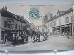 THIAIS  -  Entrée De La Rue Maurepas  -  La Fontaine  -  Epicerie GUENEAU - Thiais