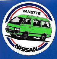 A.C NISSAN VANETTE - Autocollants