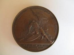 Suisse: Médaille 500ème Anniversaire De La Bataille De St Jacques Sur La Brise - 1944 - Bovy Graveur. - Monarquía / Nobleza