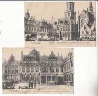 CPA Belgique - Flandre Occidentale -Furnes  - La Guerre De 1914-   2 Cartes  :   Achat Immédiat - Bélgica