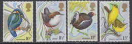 Great Britain 1980 Wild Birds 4v ** Mnh (43601) - Maximumkaarten