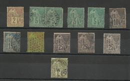 Colonies  Type Alphée Dubois,ensemble 2ème Choix, - Alphee Dubois