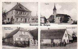 BALGAU-68-CARTE MULTIVUES- - Autres Communes