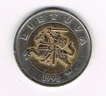 //  LITOUWEN  5  LITAI  1998 - Lituanie