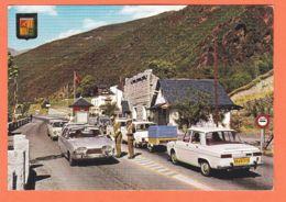 Esp411 RENAULT 10 Immatriculée 8949 CV 13 FORD TAUNUS - Valls ANDORRA Frontera Espanola-Andorrana  Poste Des DOUANES - Andorre