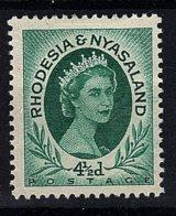 Rhodesia & Nyasaland, 1954, SG  6, Mint Hinged - Rhodésie & Nyasaland (1954-1963)