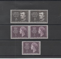 Luxembourg : Timbres Neuf ** N° 518 ,519 En Double Et Triple Exemplaire Cote Yvert : 18,00 € - Luxembourg